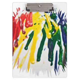 Melted Crayon Clipboard