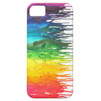 Melted Crayon Iphone 5 case