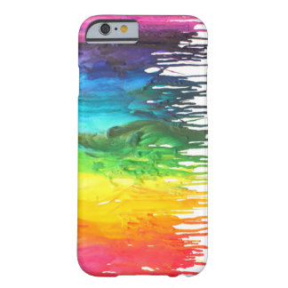 Melted Crayon Iphone 6 Barely There iPhone 6 Case