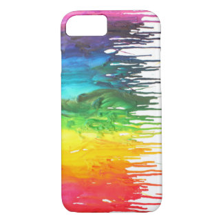 Melted Crayon iPhone 7 case