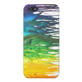 Melted Crayon Iphone Case