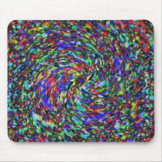 Melted Crayon Mouse Pad