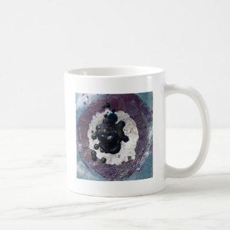 Melted Crayon Puddle Abstract Mug