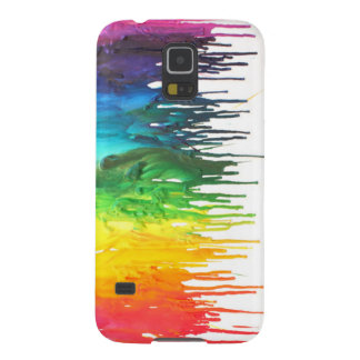Melted Crayon samsung III case Galaxy S5 Cases