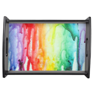 Melted Crayon Tray Serving Platter