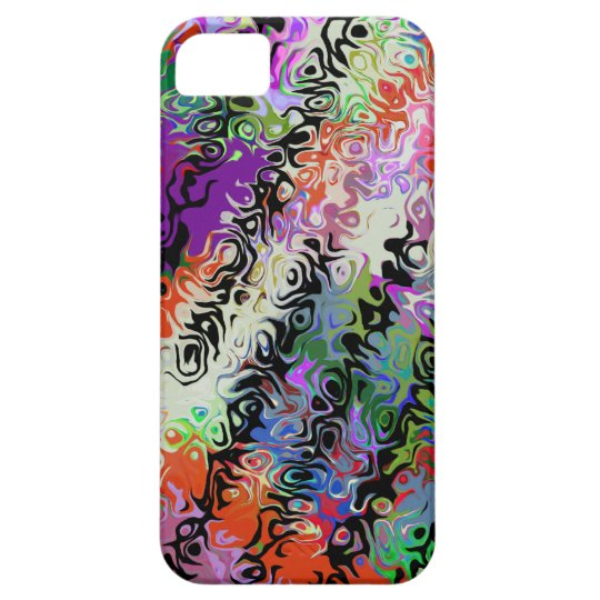 Melted Crayons Abstract iPhone SE/5/5s Case