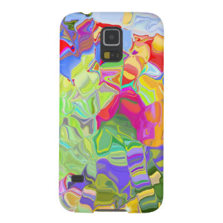 Melted Crayons Galaxy S5 Covers