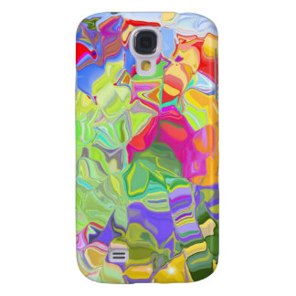 Melted Crayons Samsung Galaxy S4 Covers