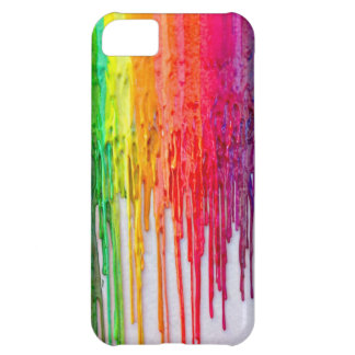 melted crayons iphone 5C iPhone 5C Cover