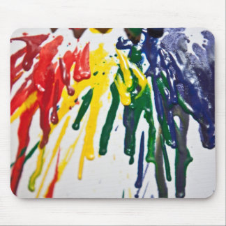 Melted Crayons Mouse Pad