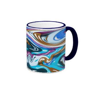 Melted Dice Ringer Mug