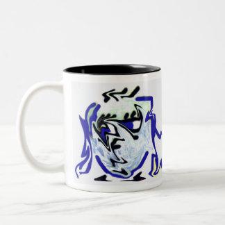 melted face coffee mug