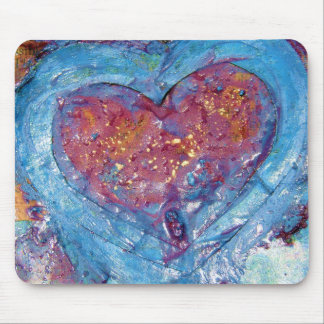 Melted Heart Mouse Pad