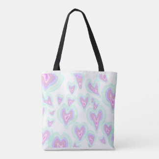 Melted Hearts In Pink Tote! Tote Bag