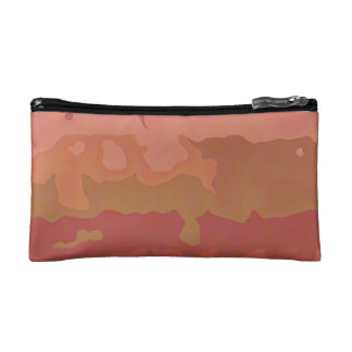 Melted Lipstick - Rosy Beige Abstract Makeup Bag