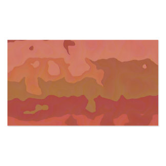 Melted Lipstick - Rosy Beige Abstract Business Card Templates