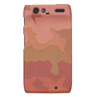 Melted Lipstick - Rosy Beige Abstract Motorola Droid RAZR Cases