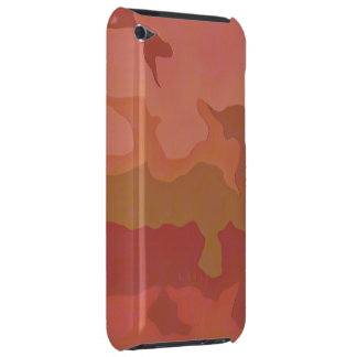Melted Lipstick - Rosy Beige Abstract Barely There iPod Cover
