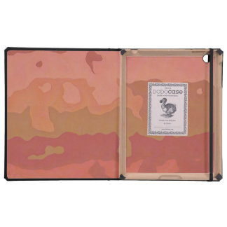 Melted Lipstick - Rosy Beige Abstract iPad Folio Cases