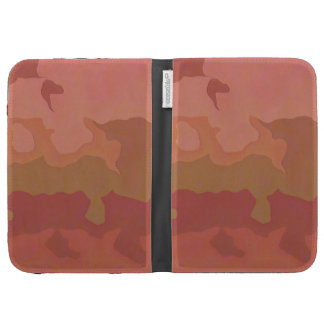 Melted Lipstick - Rosy Beige Abstract Kindle Case