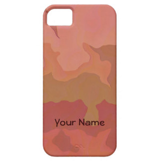 Melted Lipstick - Rosy Beige Abstract iPhone 5 Covers