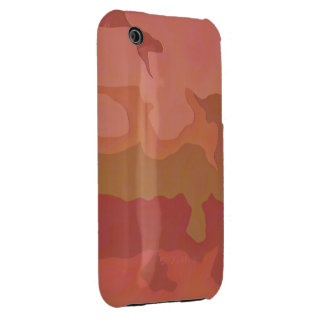 Melted Lipstick - Rosy Beige Abstract Case-Mate iPhone 3 Cases