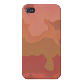 Melted Lipstick - Rosy Beige Abstract iPhone 4 Case