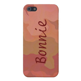 Melted Lipstick - Rosy Beige Abstract Case For iPhone 5