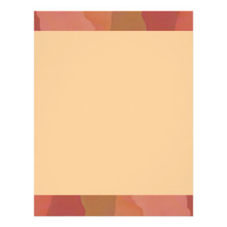 Melted Lipstick - Rosy Beige Abstract Customized Letterhead