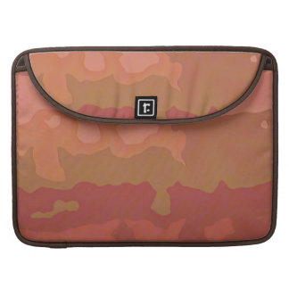 Melted Lipstick - Rosy Beige Abstract Sleeve For MacBook Pro