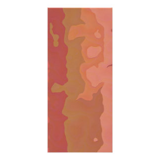 Melted Lipstick - Rosy Beige Abstract Custom Rack Cards