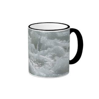 Melted metal ringer mug