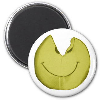 Melted Smiley Face Magnet