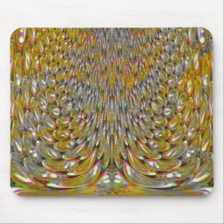 Melting Aluminum Cans Mouse Pad
