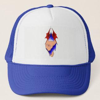 MELTING ART PRINT SHADOW KING BALL CAP