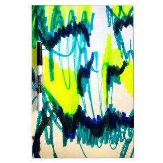 Melting Away Dry-Erase Board