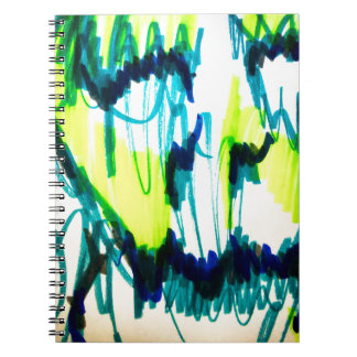 Melting Away Spiral Notebook