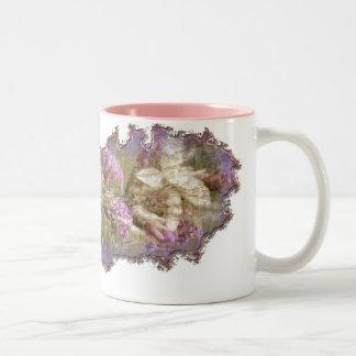 Melting Away Two-Tone Coffee Mug