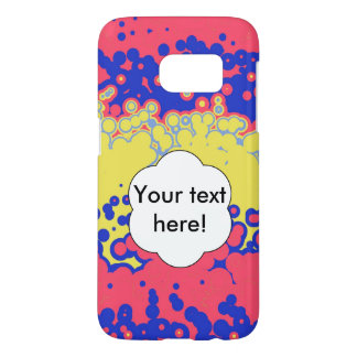 Melting bubbles samsung galaxy s7 case