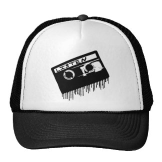 Melting Cassette Tape Hat