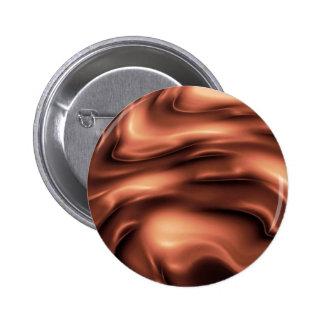 Melting chocolate pinback button
