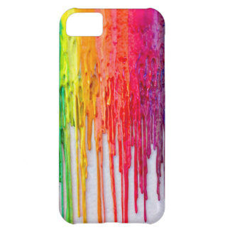 melting crayon rainbow iphone 5 case