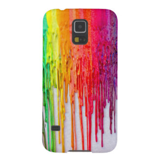 melting crayons galaxy phone case galaxy s5 cases