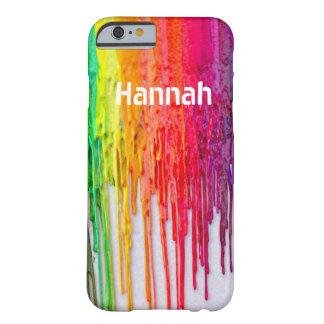 melting crayons iPhone 6 case