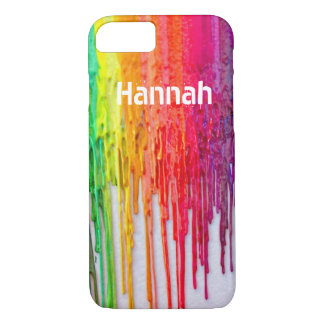 melting crayons iPhone 7 case