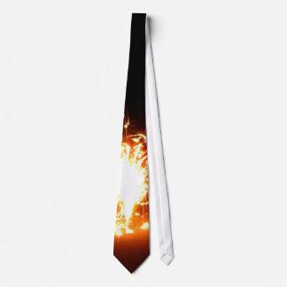 Melting Fire Neck Tie