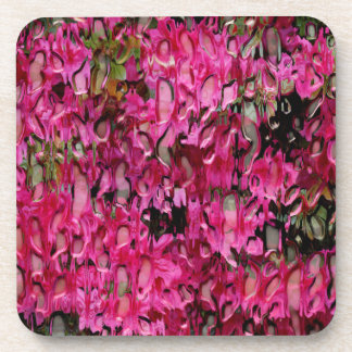 Melting Flowers Abstract Coasters