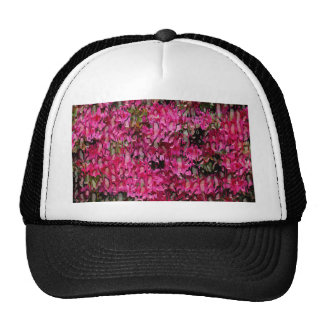 Melting Flowers Abstract Trucker Hat