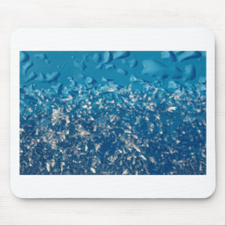 Melting frost mouse pad