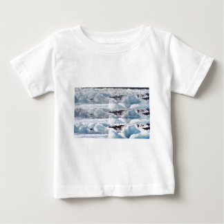 MELTING GLACIERS snow background TEXT TEMPLATES Baby T-Shirt